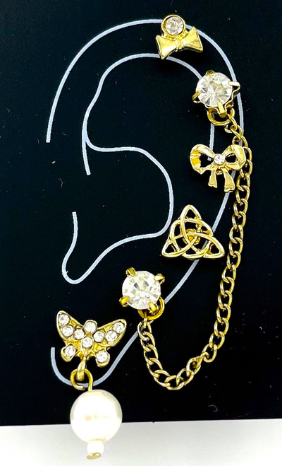 Wholesale Single Earring Collection by the Dozen - Celtic Butterfly
