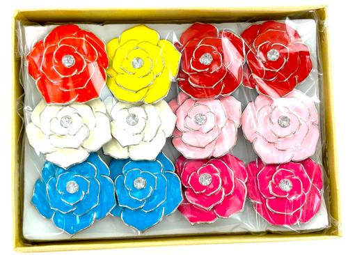 Wholesale Flower Power Rings by the Dozen