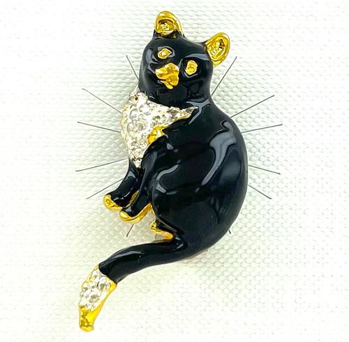 Wholesale Tuxedo Cat Pins by the Dozen