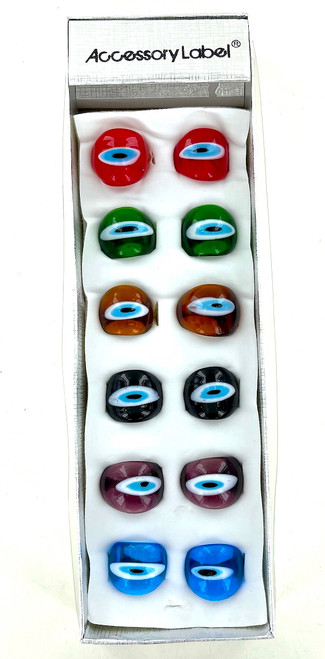 Wholesale Evil Eye Protection Rings by the Dozen