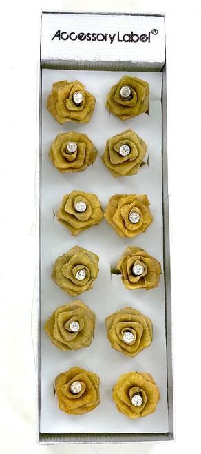 Wholesale Golden Rose Rings by the Dozen