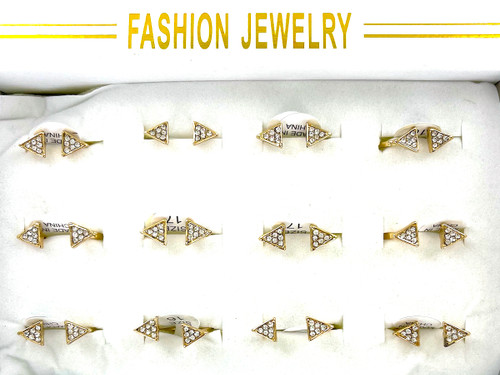 Wholesale Open Arrow Fashion Rings by the Dozen