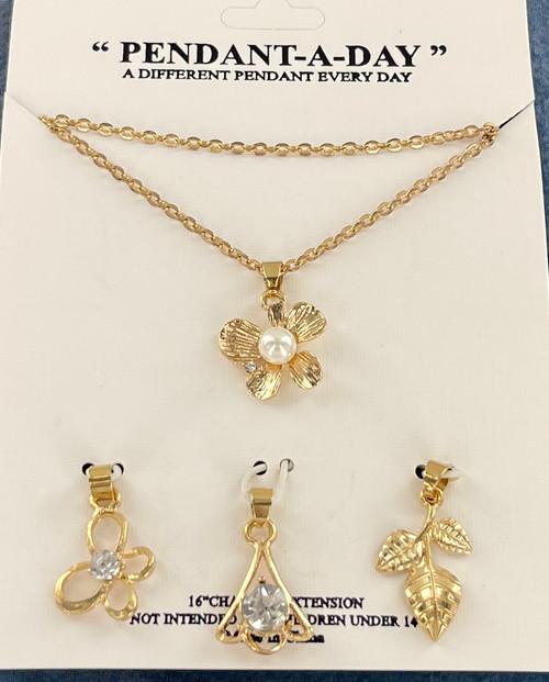Wholesale Pendant A Day Necklaces by the Dozen