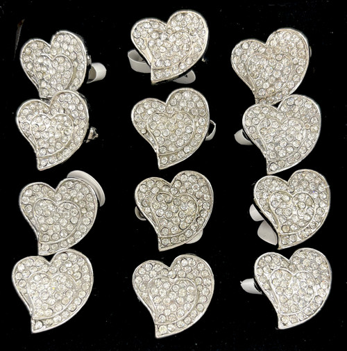 Wholesale Sized Rings by the Dozen - Crooked Heart