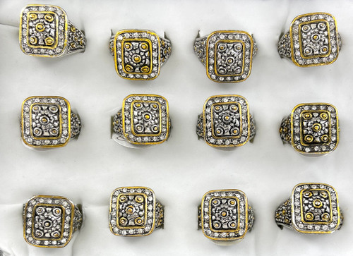 Wholesale Sized Rings by the Dozen - Grecian