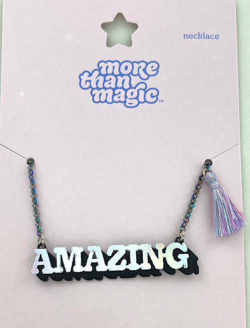 """Wholesale """"Amazing"""" Nameplate Necklace"""