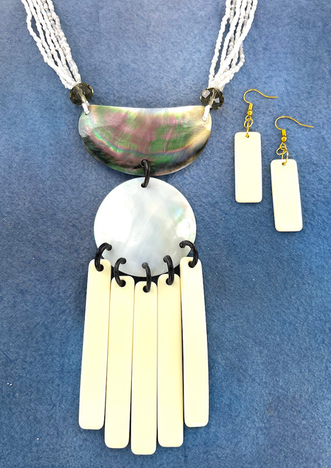 Wholesale Moon Goddess Necklace and Earring Set