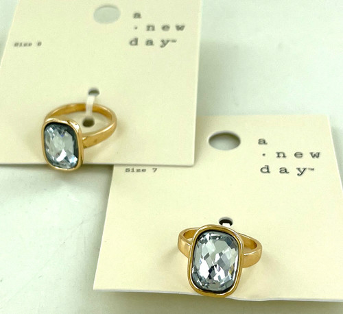 Wholesale Gold Plated and Crystal Ring