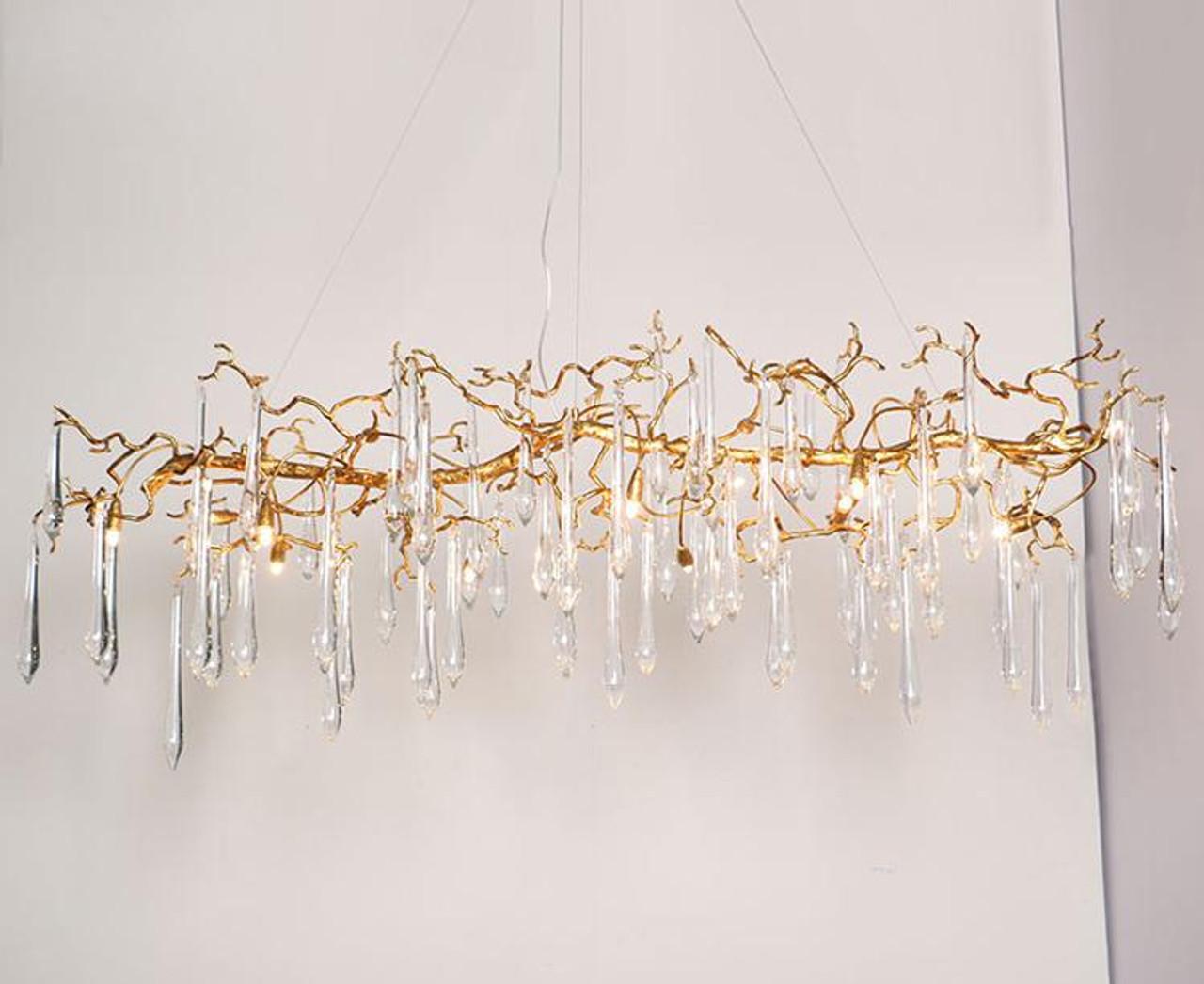 Adleana Luxury Branch Crystal Chandelier