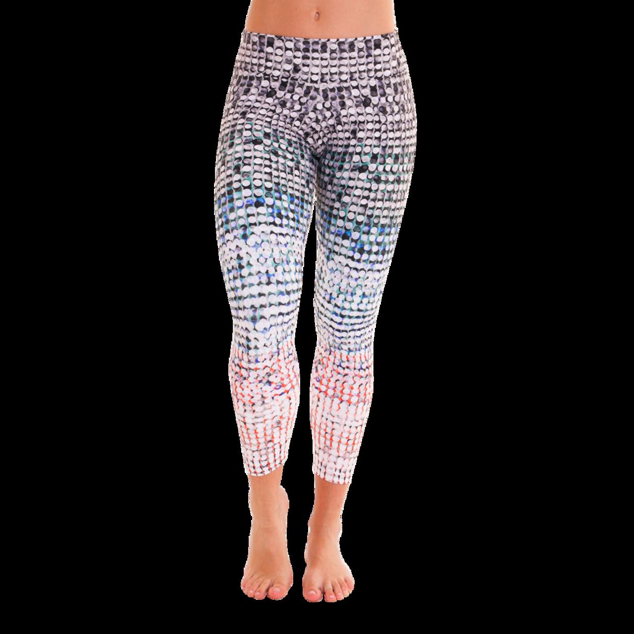 énorme réduction 7e118 c1482 7/8 Patterned Leggings - Paillette