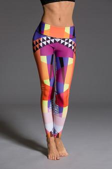 Graphic Leggings - Fancy