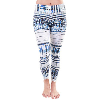 7/8 Patterned Leggings - Pixel Wild