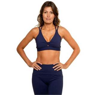 Spider Eco Bra - Navy