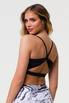 Bow Bra - Black (With Removable Pads)