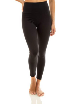 Ultra High Waist 7/8 Eco Leggings - Black