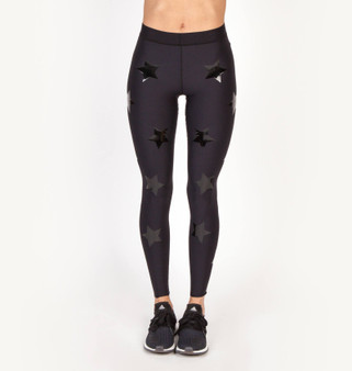 Ultra High KO Leggings - Nero Patent Nero