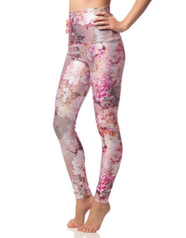 Pink Mums Sparkly Leggings