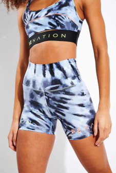 Top Spin Shorts - Tie Dye