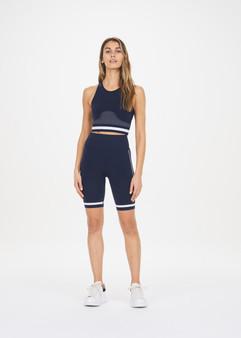 Seamless Spin Shorts - Navy