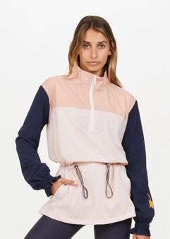 Color Block Yoko Jacket - Powder Pink