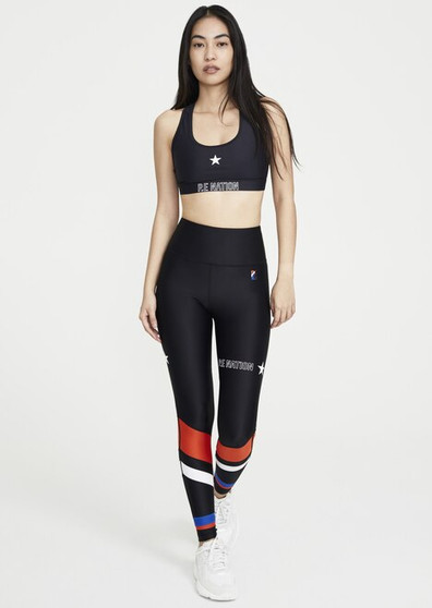 Circuit Racer Leggings - Black