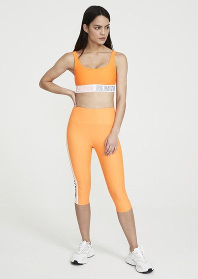 Full Strength Sports Bra - Orange