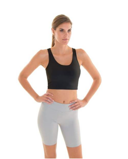 Crop Eco Top - Black