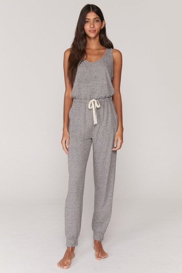 Perfect Lounge Jumpsuit - Heather Grey