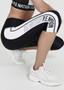 Full Strength Leggings - 3/4 Length Tights- Black