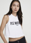 Fasted Lap Tank - White