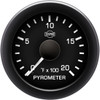 ISSPRO EV2 - 3 - Gauge Kit for 1994-1997 Ford 7.3L Powerstroke with, Pyro, Boost, and Trans Temp, Black dial, Black bezel, White pointer