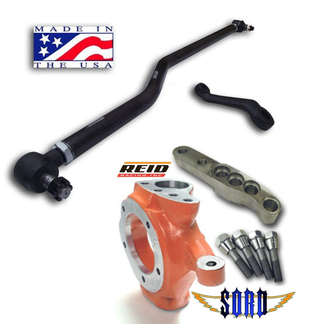 Sky Manufacturing Ford 1980 1997 Dana 44 Crossover Steering Kit And