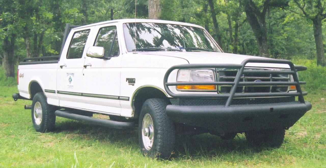 Tough Country Full Replacement Deluxe Bumper, OBS Ford, DFR0030F