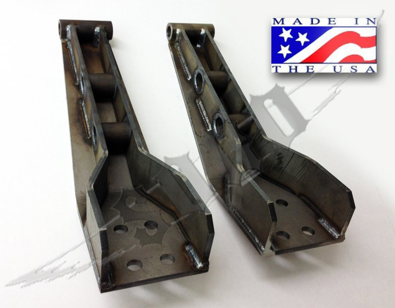 SKY Manufacturing 88-97 Ford F250/F-350 Dual Front Shock Mount Fabricated,  FORD-BDSM