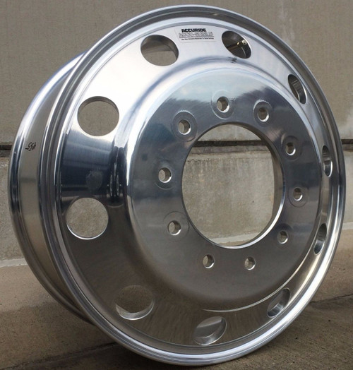 Aluminum 19.5 Dually Wheels, Ford F450-F550, AL10