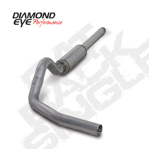 "Diamond Eye, 1994-1997.5 7.3L F250 & F350 ""Cat back"" single 5"" Kit  # K5316A"