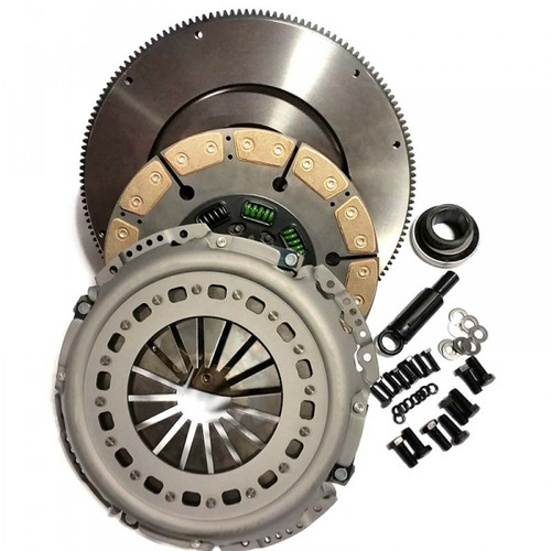 Valair Clutches, VALAIR NMU70263-04-SFC CERAMIC UPGRADE CLUTCH WITH FLYWHEEL