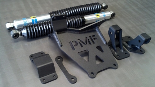 PMF Suspension 1999-2004 Ford F-250/350 Dual Steering Stabilizer Kit, PMF-FRD-3010-1