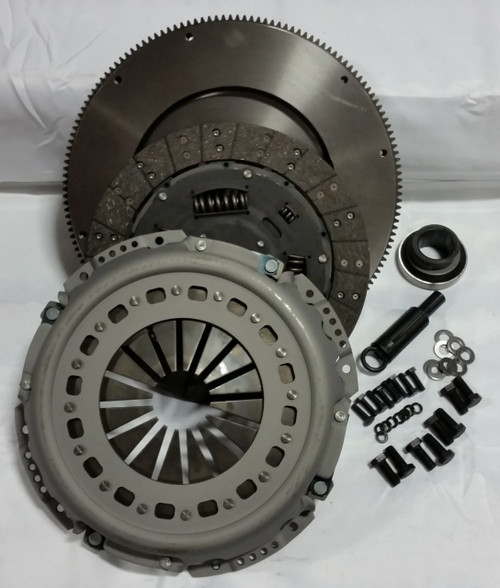 Valair Clutches, 1994-1997 FORD 7.3L POWERSTROKE 5-SPEED (STOCK HP) - NMU70263-SFC OEM REPLACEMENT CLUTCH WITH FLYWHEEL