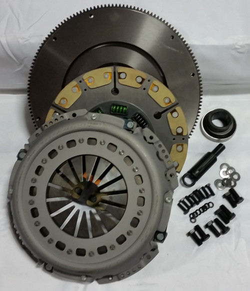 Valair Clutches, 1994-1997 FORD 7.3L POWERSTROKE 5-SPEED - CERAMIC/KEVLAR UPGRADE CLUTCH WITH FLYWHEEL -VALAIR NMU70263-06-SFC