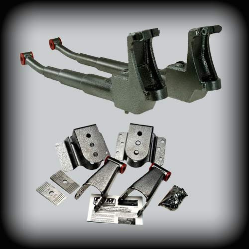 DJM Complete 3/5 lowering kit, 1999-2007 Superduty, DJM3015-3/5