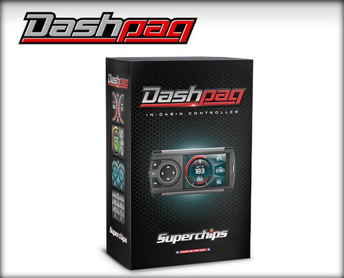 SUPERCHIPS 1050 DASHPAQ IN-CAB TUNER 1994-2016 FORD POWERSTROKE - 1050