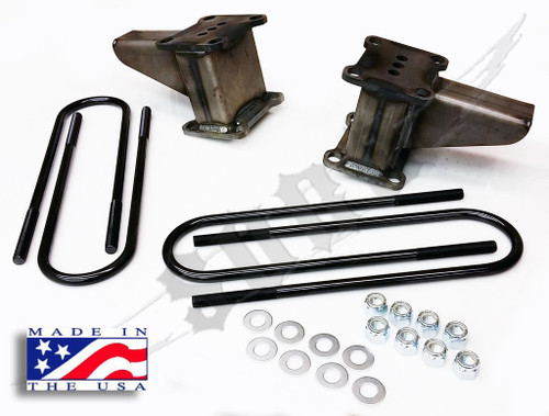 "SKY Manufacturing Ford F-350 4x4 6"" Block/Ubolt Kit, FORD-RBL-006"