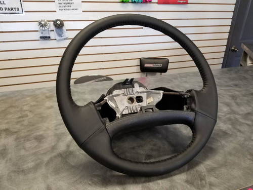Ford Steering Wheel - Recovered - 92-97 F250, F350 (OBS-SW-RC)