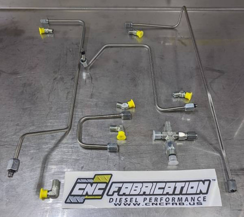 99-03 7.3L 4-Line Feed Fuel Line Kit