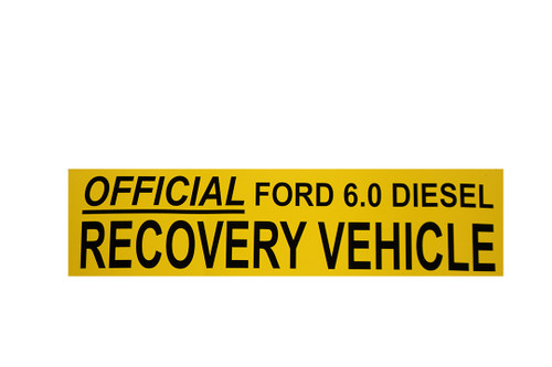 Nostalgic Bumper Sticker, HANDPICKED TRUCKS (Sticker 6.0 Recovery)