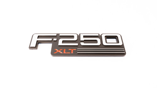 Complete Performance F250 XLT Badge (Sold Individually) (CP-F250XLT-Badge)