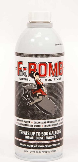 F-Bomb Diesel Fuel Additive