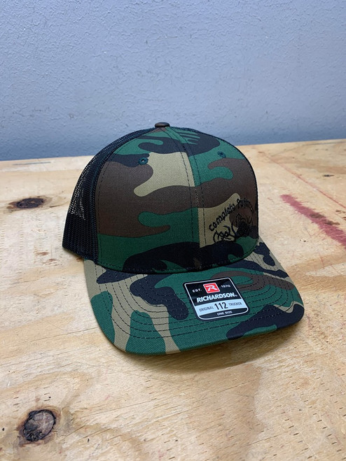 Camouflage Complete Performance Truck Hat (CP-CAMO-Hat)