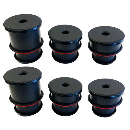 Silicone Body Mount Bushing Kit For 1980-1997 Ford F-150 / F-250 / F-350 / F-Superduty